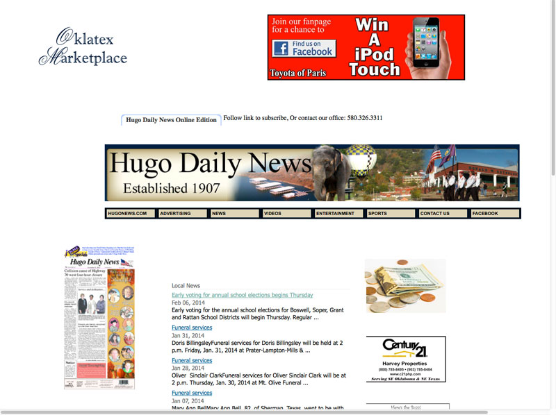 hugo-news-old-site