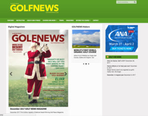 Golf Magazine website - Creations 4 You